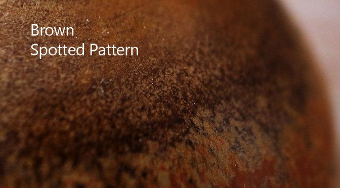 茶斑紋釉 '141020BN