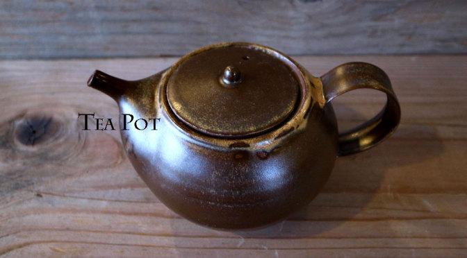 栗茶釉のティーポット TP-005