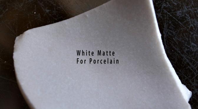 磁器・半磁器用白マット '141201PWM