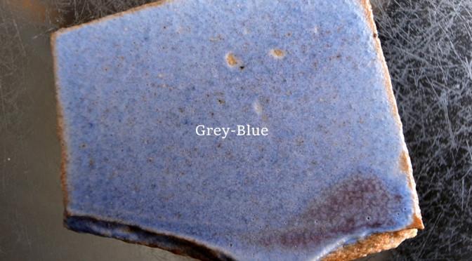 GREY-BLUEマット釉 '150501GBM