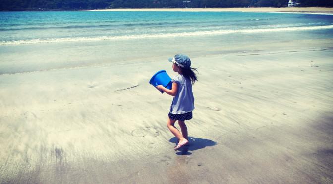 夏のはじまり 南伊豆 弓ヶ浜