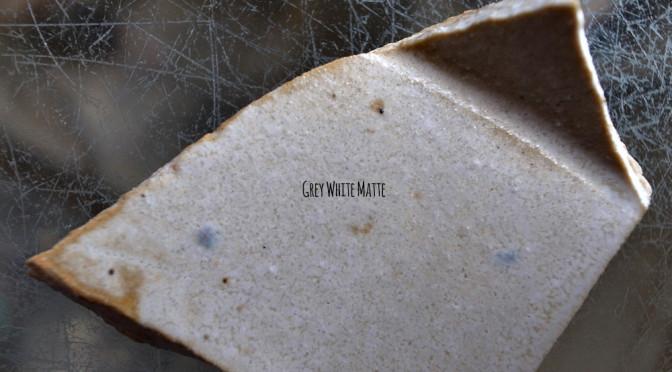 '150501GWM グレイホワイトマット釉