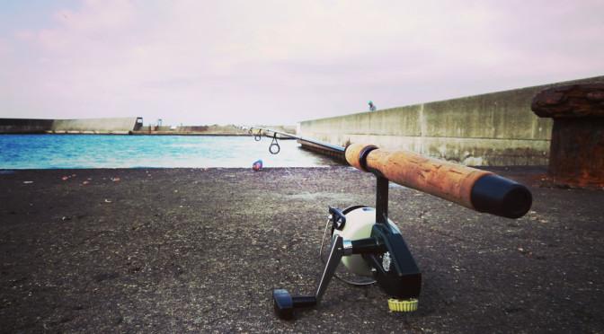 茅ケ崎漁港で釣り