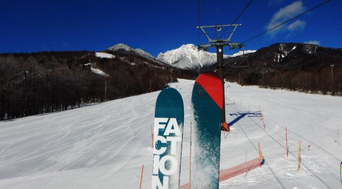サンメドウズ清里 スキー