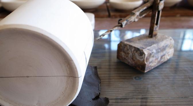 マグカップの原型制作
